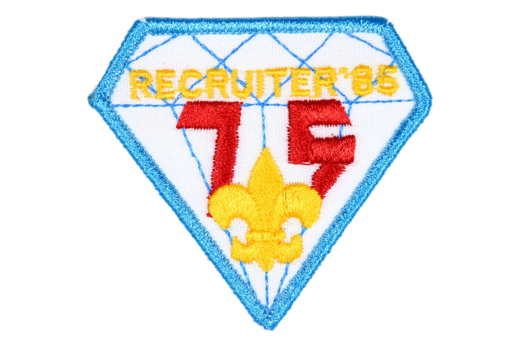 Recruiter Patch Diamond Jubileee