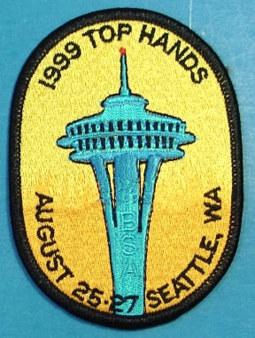 1999 Top Hands Meeting Patch