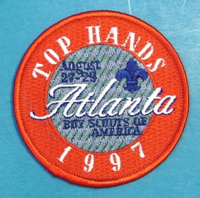 1997 Top Hands Meeting Patch