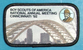 1992 National Meeting Patch