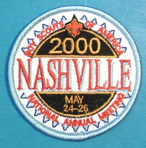 2000 National Meeting Patch