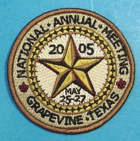 2005 National Meeting Patch