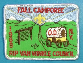 Rip Van Winkle Fall Camporee Patch 1988
