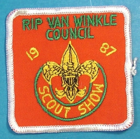 Rip Van Winkle Scout Show Patch 1987