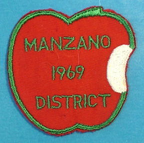 Manzano District Patch 1969