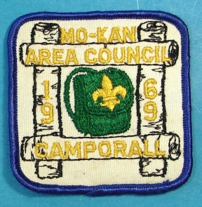 Mo-Kan Area Patch 1969 Camporall