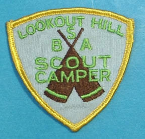 Lookout Hill Scout Camp Patch