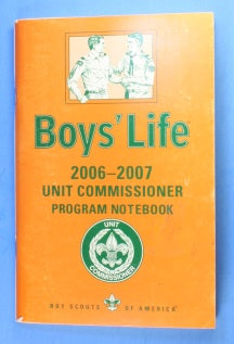 2006-2007 Unit Commissioner Notebook