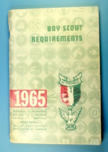 Boy Scout Requirements Book 1965
