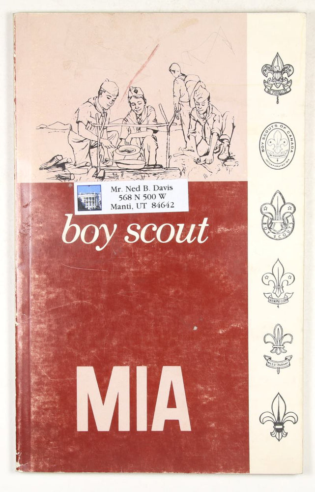 LDS MIA Boy Scout Book 1970