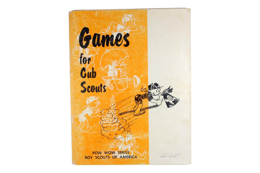 Games for Cub Scouts Book