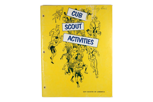 Cub Scout Activities Book