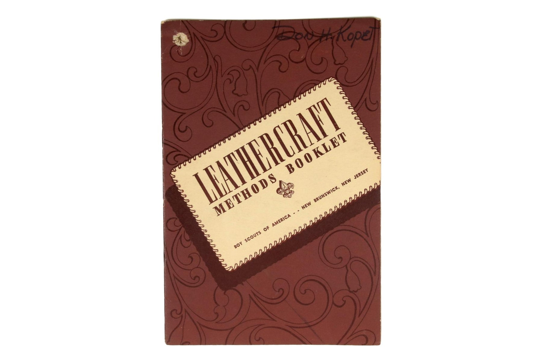 Leathercraft Methods Book