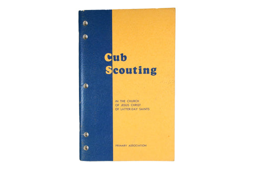 Cub Scouting in the LDS Church Book