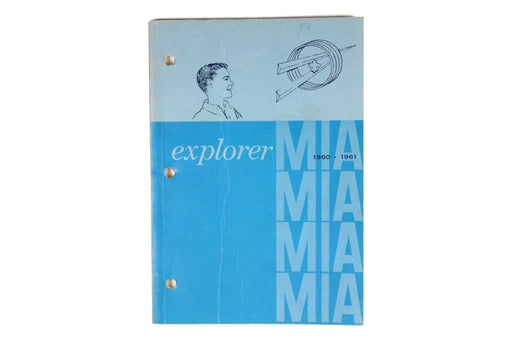 Explorer MIA Book 1960-1961
