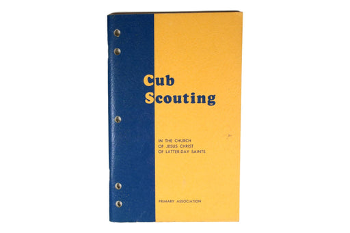 Cub Scouting in the LDS Chruch 1969