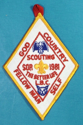 Lake Bonneville Patch Scout O Rama 1981
