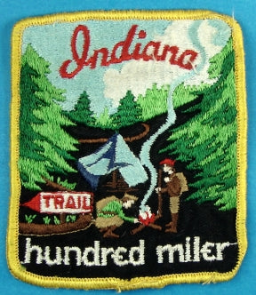 Indiana Trail Patch 100 Miler
