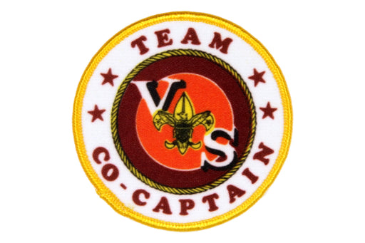 Team Co-Captain Leader Patch Silk Screened