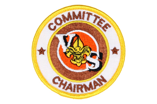 Team Committee Chairman Patch