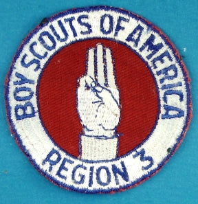 Region Three Patch Plain Back
