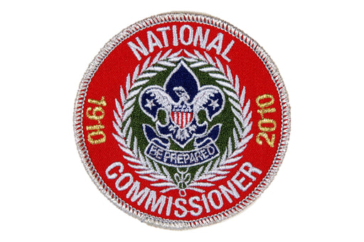 National Commissioner Patch 2010