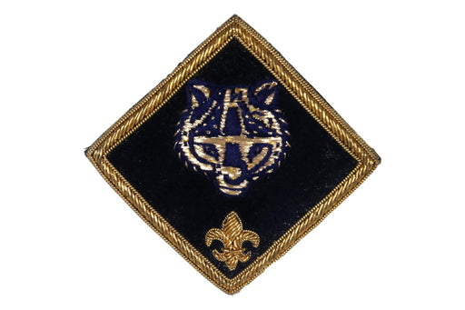 Cub Scout Bullion Jacket Pocket Patch