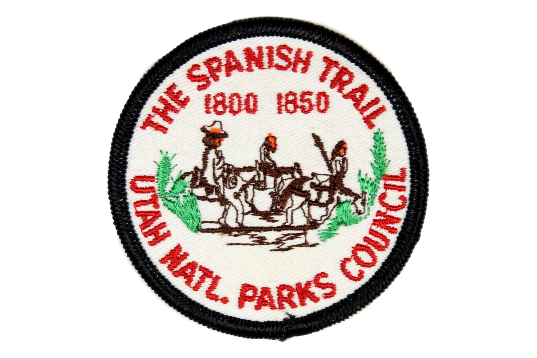 Spanish Trail Patch Twill Material