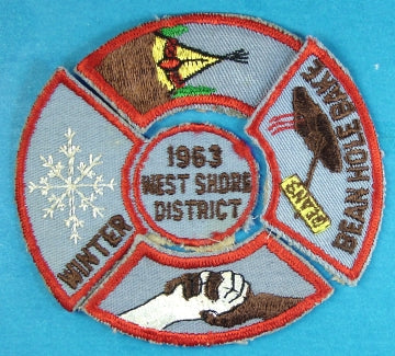 West Shore District 1963 Patch and Four Segments