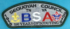 Sequoyah CSP SA-New 2010 Anniversary of Scouting