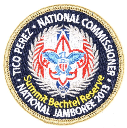 2013 NJ National Commissioner Patch