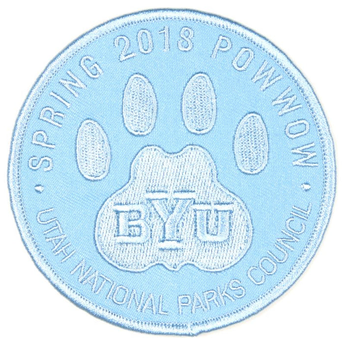 2018 BYU Merit Badge Pow Wow Spring Patch