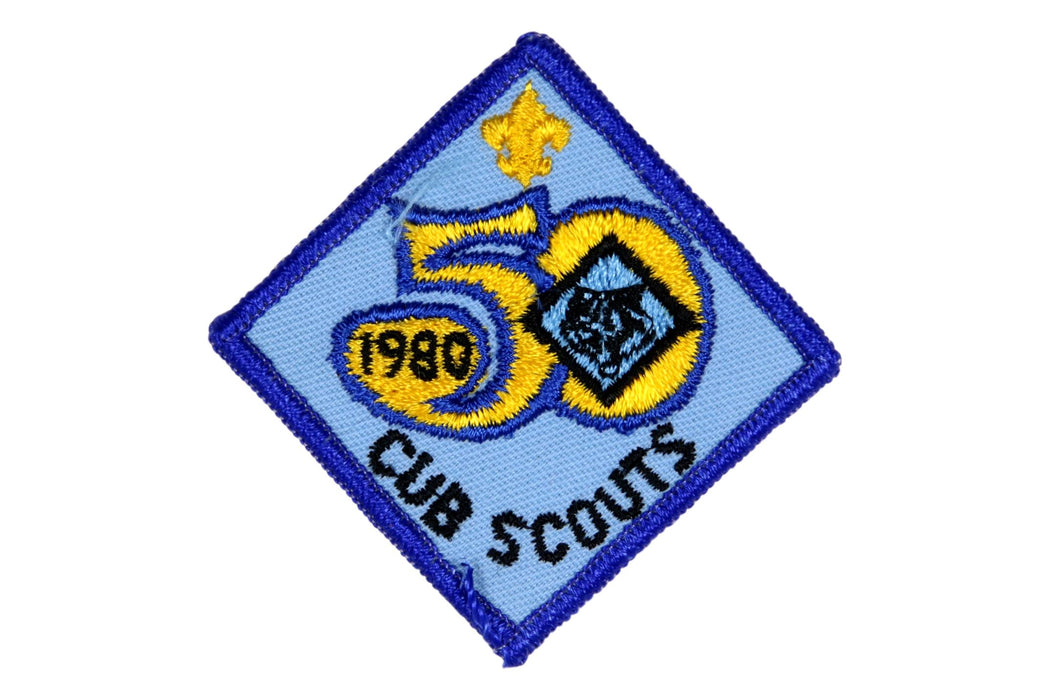 Cub Scout 50th Anniversary Patch