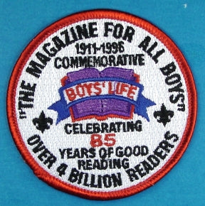 Boy's Life Patch 1996