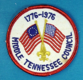 Middle Tennessee 1976 Patch