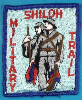 Shiloh Military Trail Patch