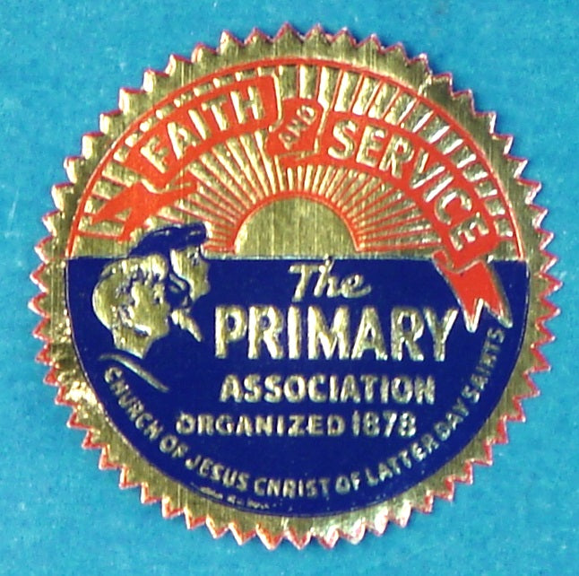Primary Faith and Service Sticker