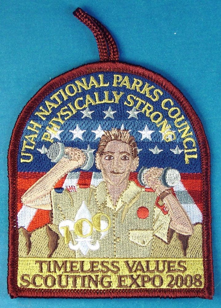 2008 Scout Expo Patch