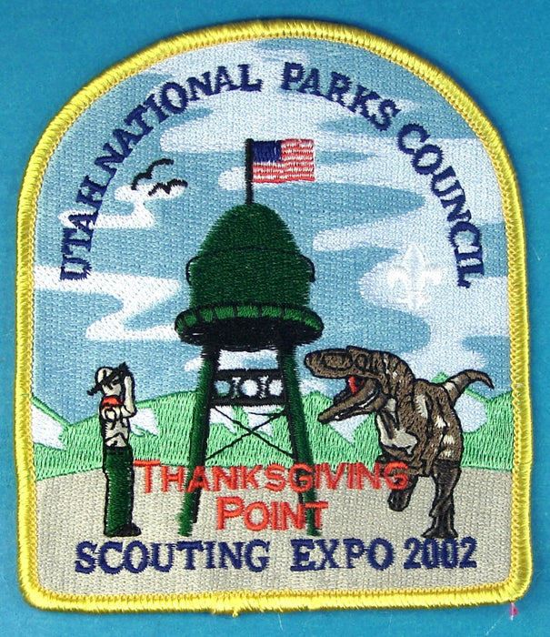 2002 Scout Expo Patch Dark Green Tower
