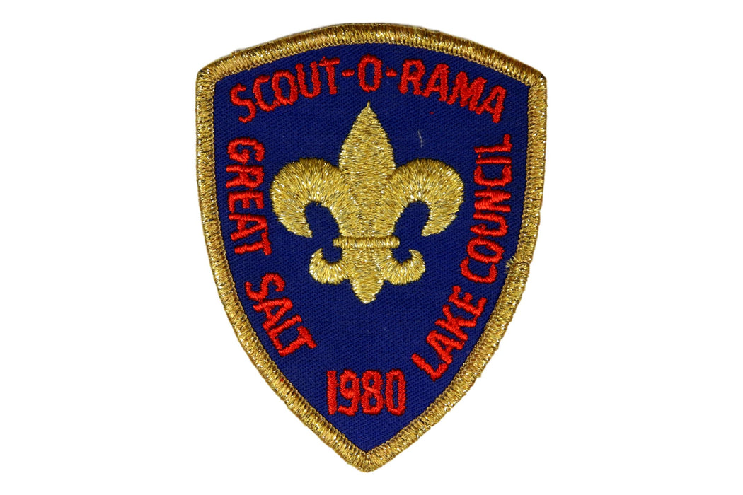 1980 Great Salt Lake Scout O Rama Patch