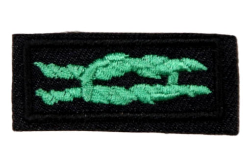 Scouter's Training Award Knot on Navy