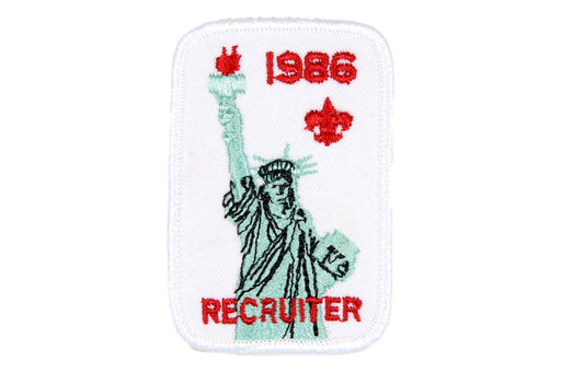 Recruiter Patch 1986
