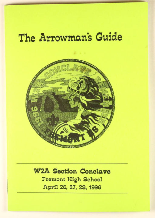 1996 Section W2A Conclave Booklet