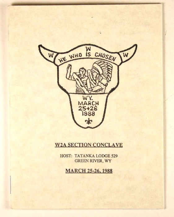 1988 Section W2A Conclave Booklet