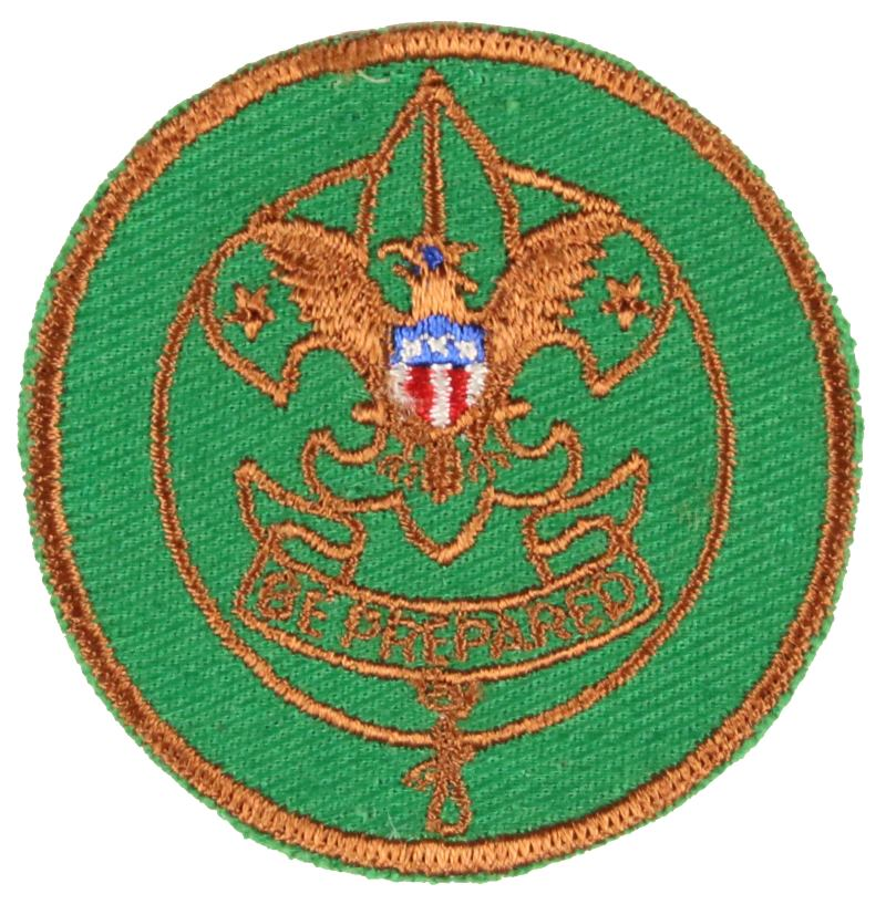 Junior Assistant Scoutmaster Patch 1950s Type 1