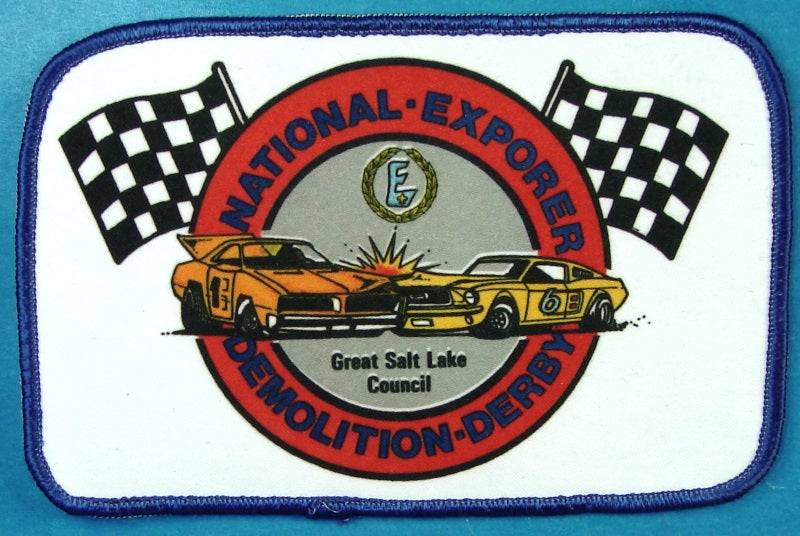 National Explorer Demolition Derby Patch