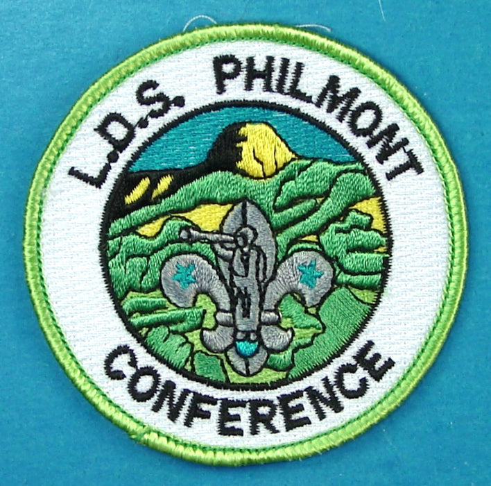 LDS Mormon Conference Philmont Patch Fully Embroidered