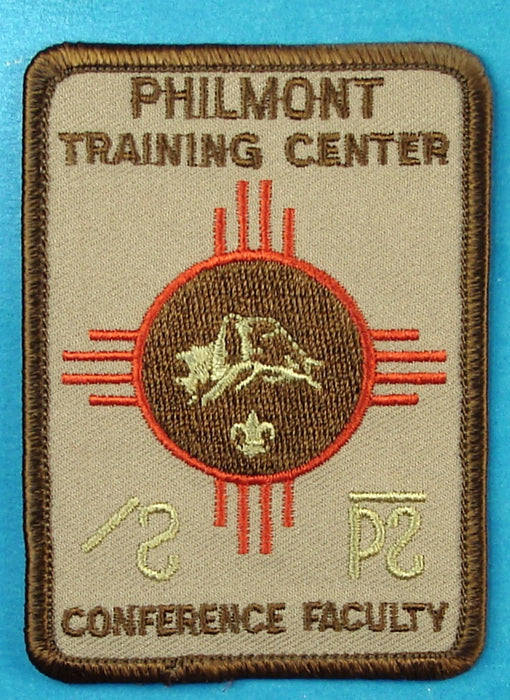 Philmont Training Center Conference Faculty Patch
