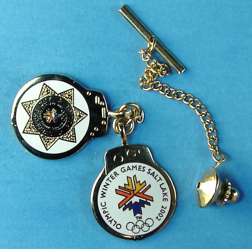 2002 Salt Lake Olympics Syracuse City Police Pin