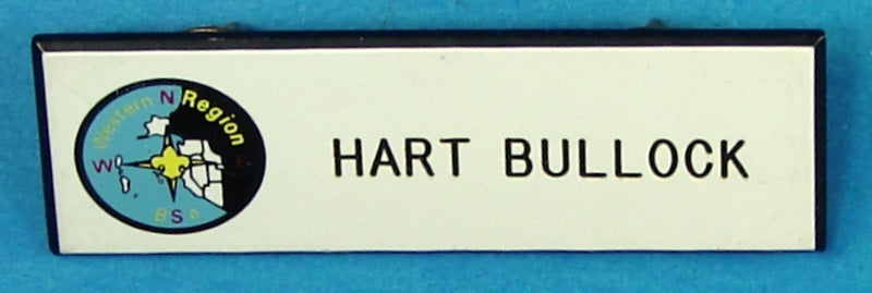 Western Region Name Tag